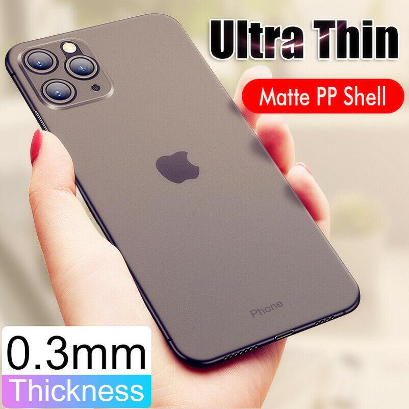 Ultra Sottile 0.3mm Matte PP Cover Custodia per Apple iPhone XR