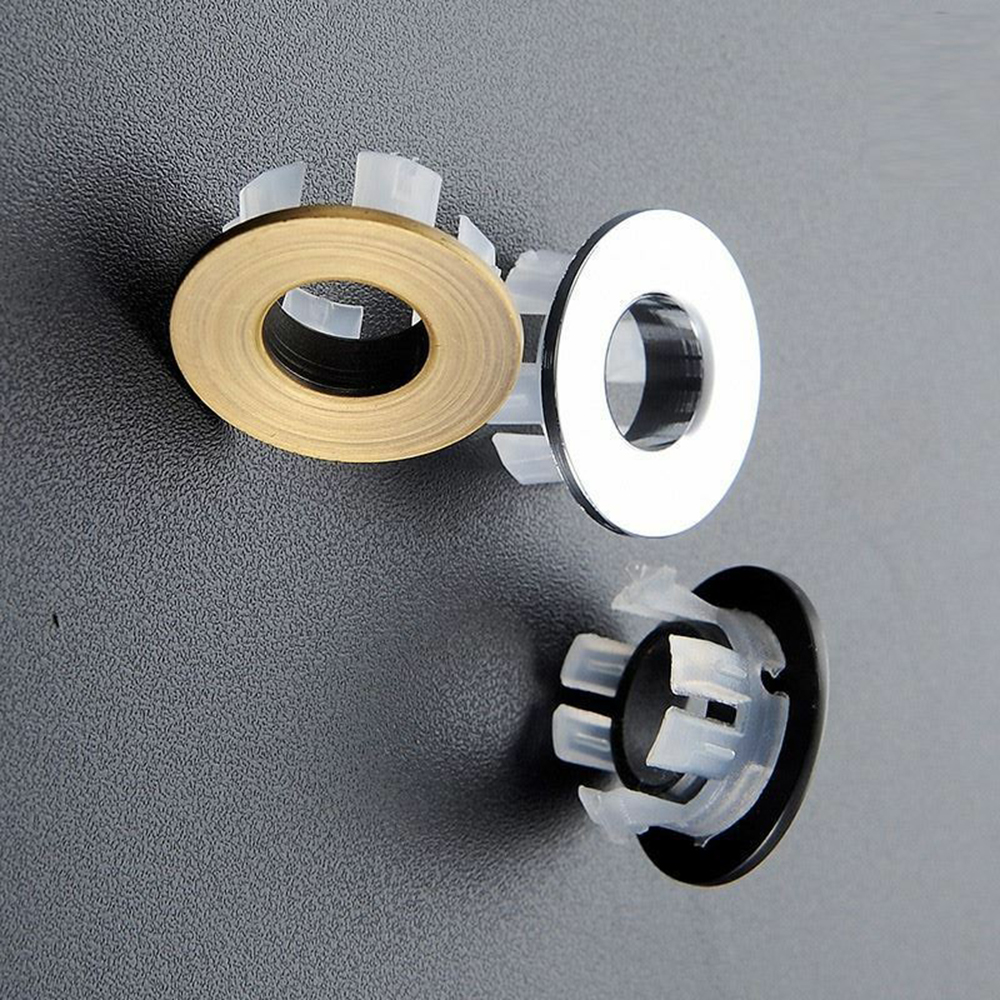 Quality Brass Made Basin Sink Overflow Insert Hole Trim Cover