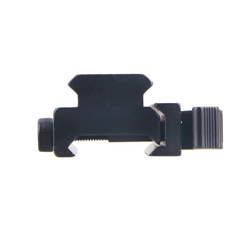 40mm 5 Slots Höhen Adapter mit Schnellverschluss Weaver Picatinny Erhöhung Jagd