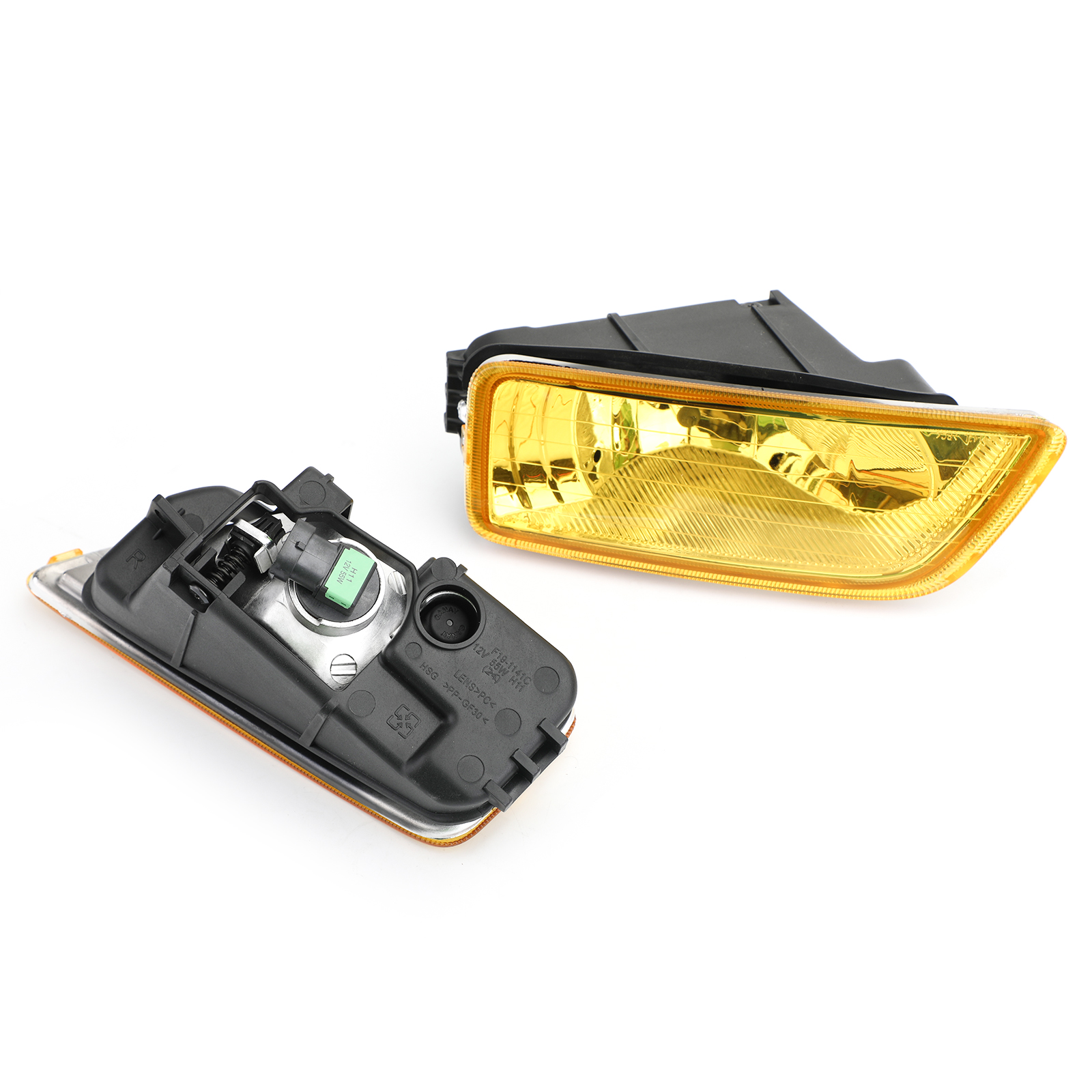 Yellow Lens Fog Lights + Switch For 2003-2007 Honda Accord