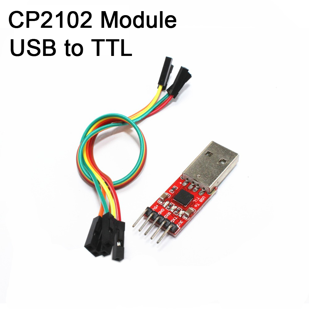 CP2102 Module USB to TTL Uart Serial Convertor 5v 3.3v Programmer RX TX RED