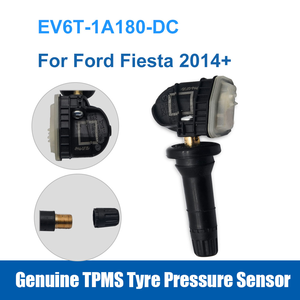 Replacement OE EV6T-1A180-DC TPMS Tyre Pressure Sensor For Ford Fiesta 2014