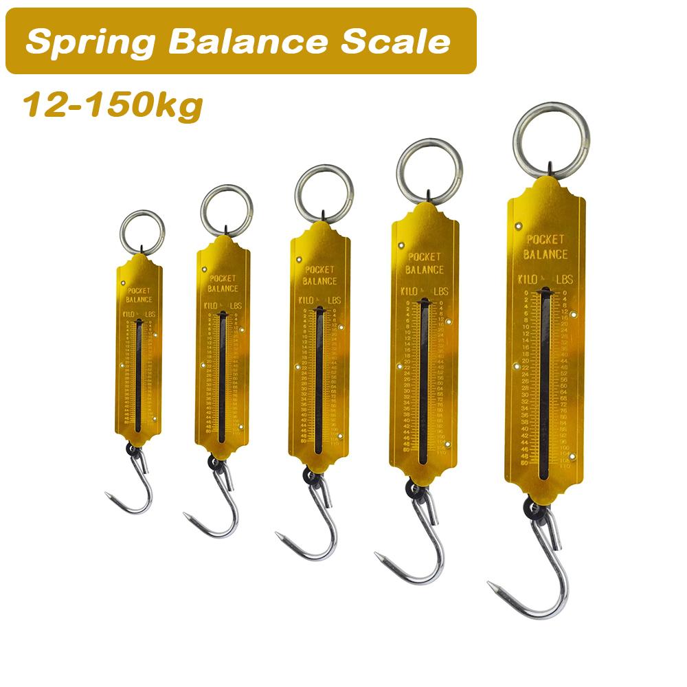Heavy Duty Hanging Hook Handheld Metal Mechanical Weighing Scale Luggage