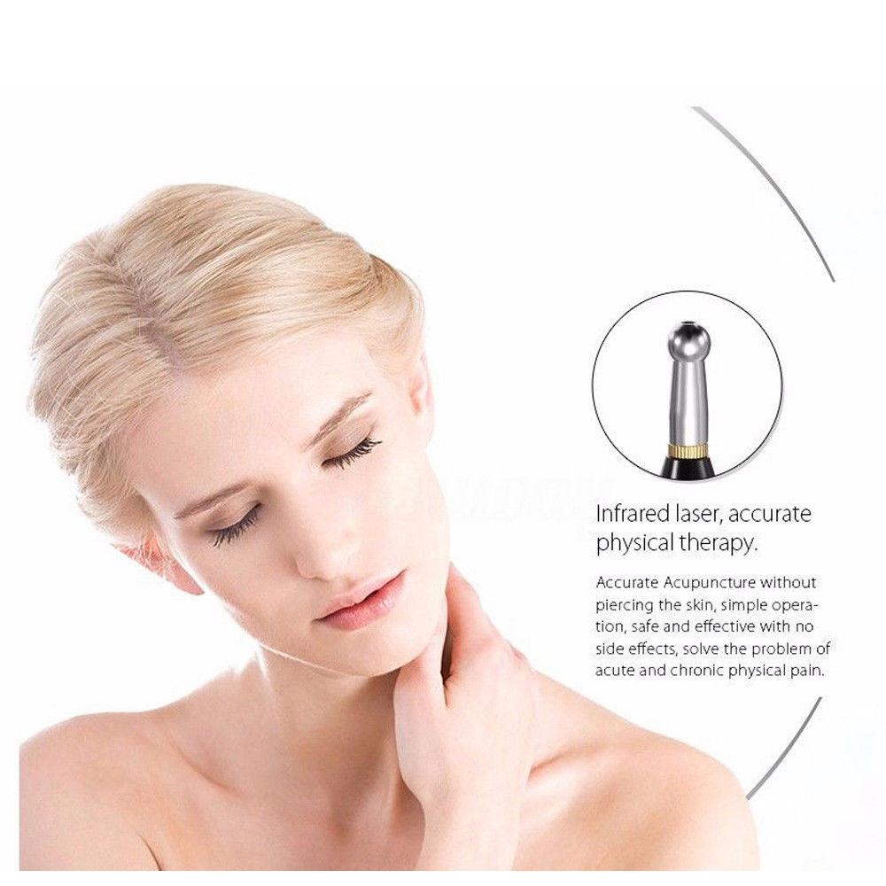 Electric Acupuncture Meridian Massage Laser Pen Neck Pain ...