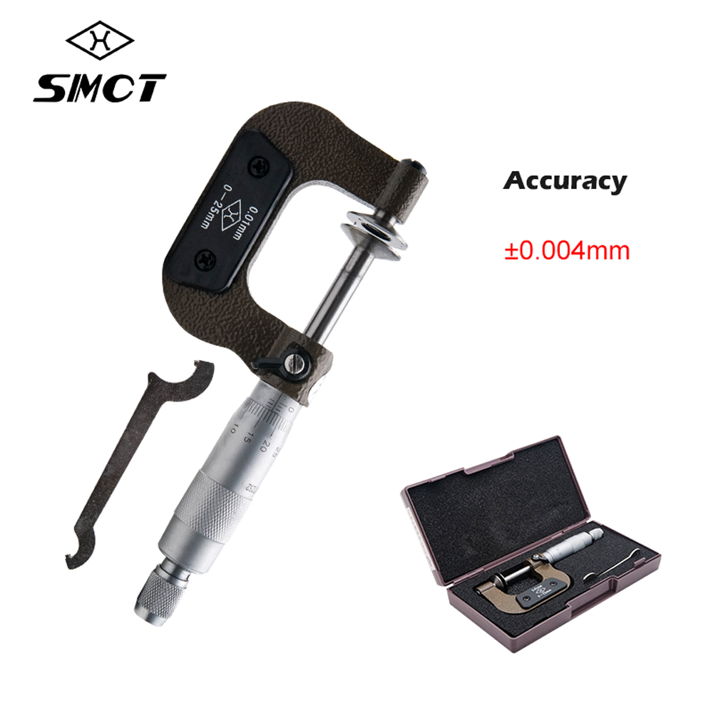 SMCT 50-75mm High Precision External Outside Micrometers Accuracy Measuring Tool