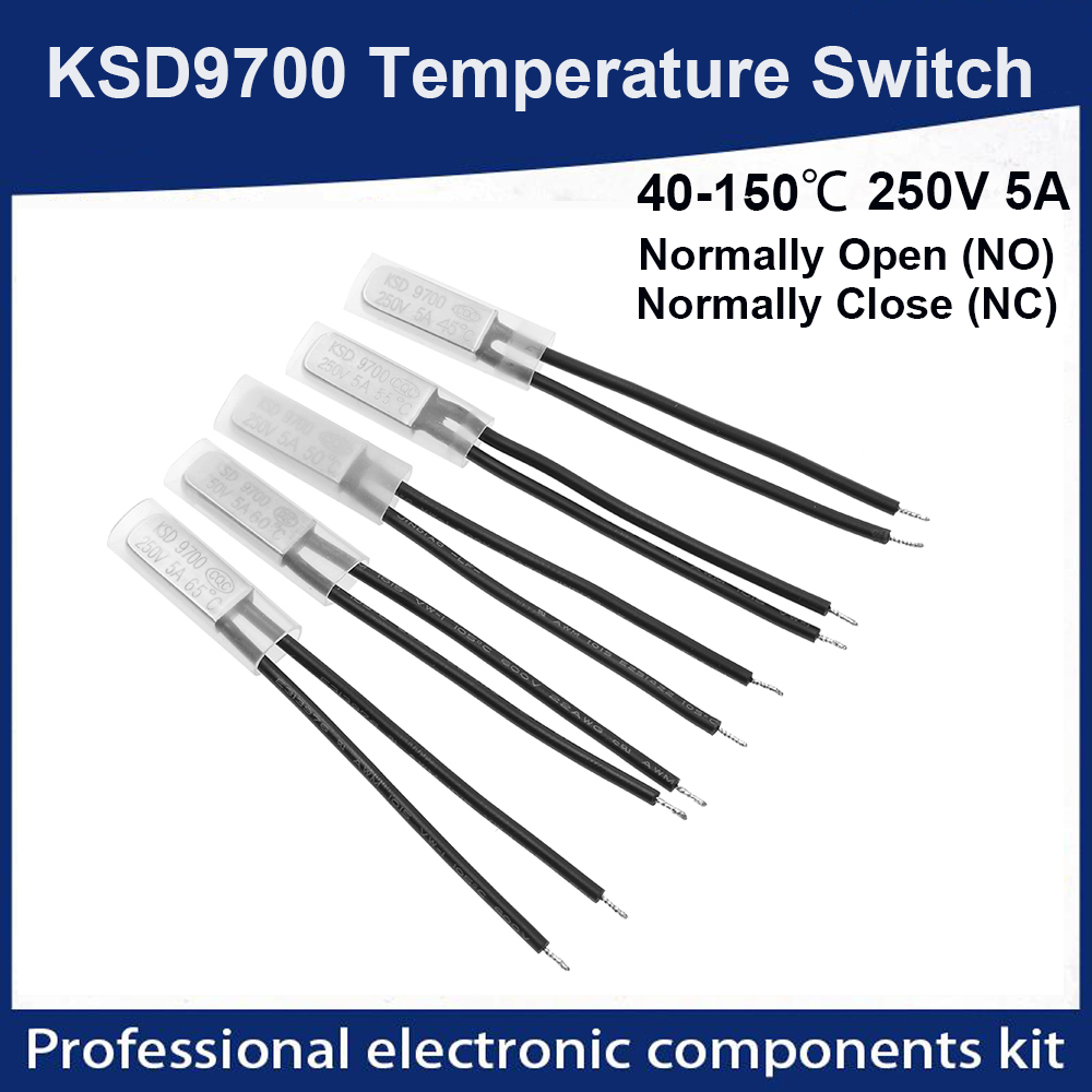 Normally Closed Open Thermostat KSD9700 Temperature Switch Thermal Protector
