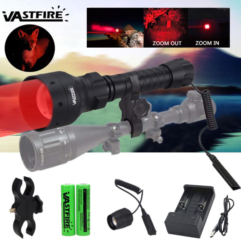 501B grün LED Predator Coyote Jagd-Taschenlampe Schwein Varmint Lafette Lampe