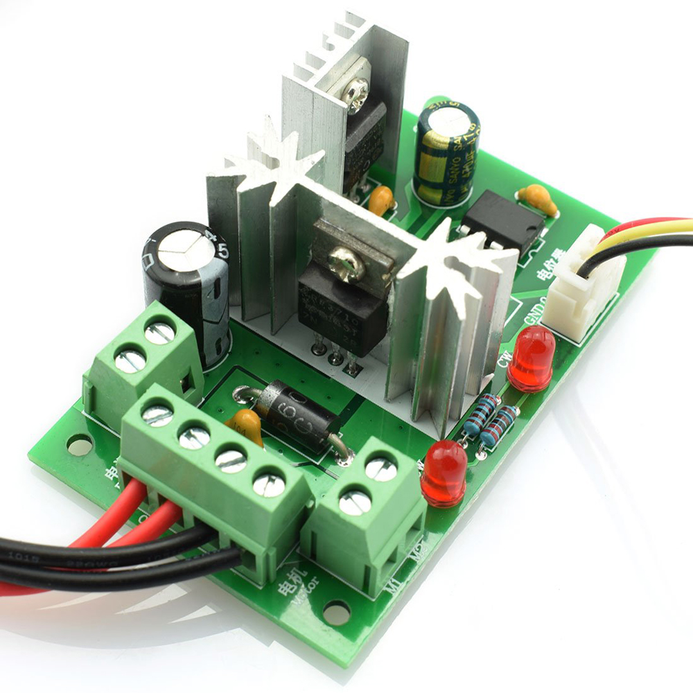 6-30V DC Motor Speed Controller Reversible PWM Control Forward Reverse switch S9