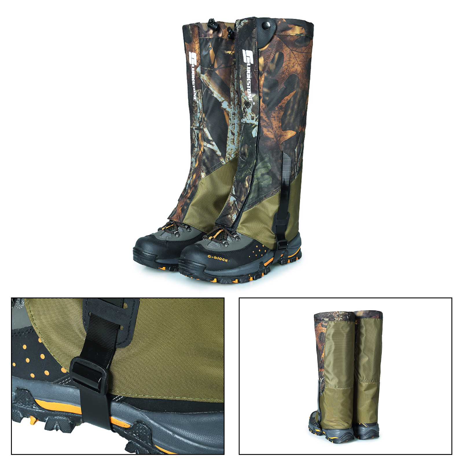 Hiking Hunting Snow Outdoor Sand Snake Waterproof Boots Cover Legging Gaiters