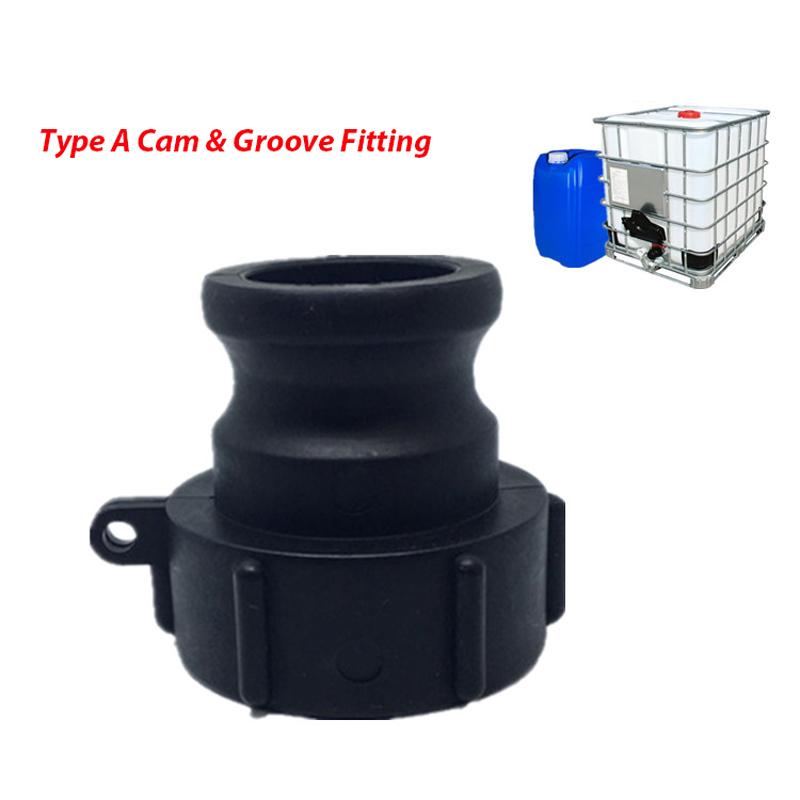 V-Teil mit Außengewinde Typ F System Kamlock Camlock Hebelarm Kupplung PP