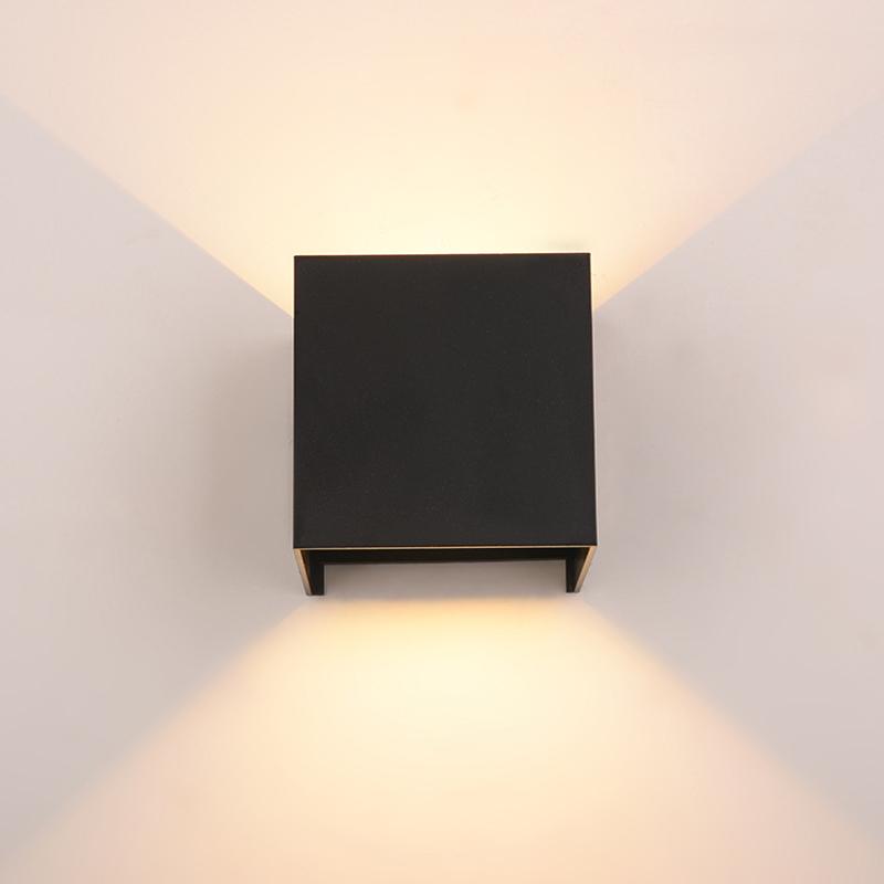 10W Cube Würfel LED Wand Leuchte Lampe Up Down für Außen ...