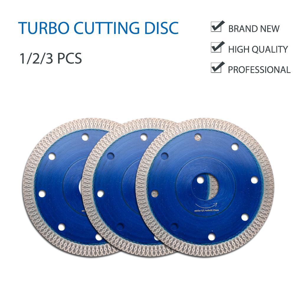 Porcelain Tile Turbo Thin Diamond Dry Cutting blade//Disc Grinder wheel 115mm US