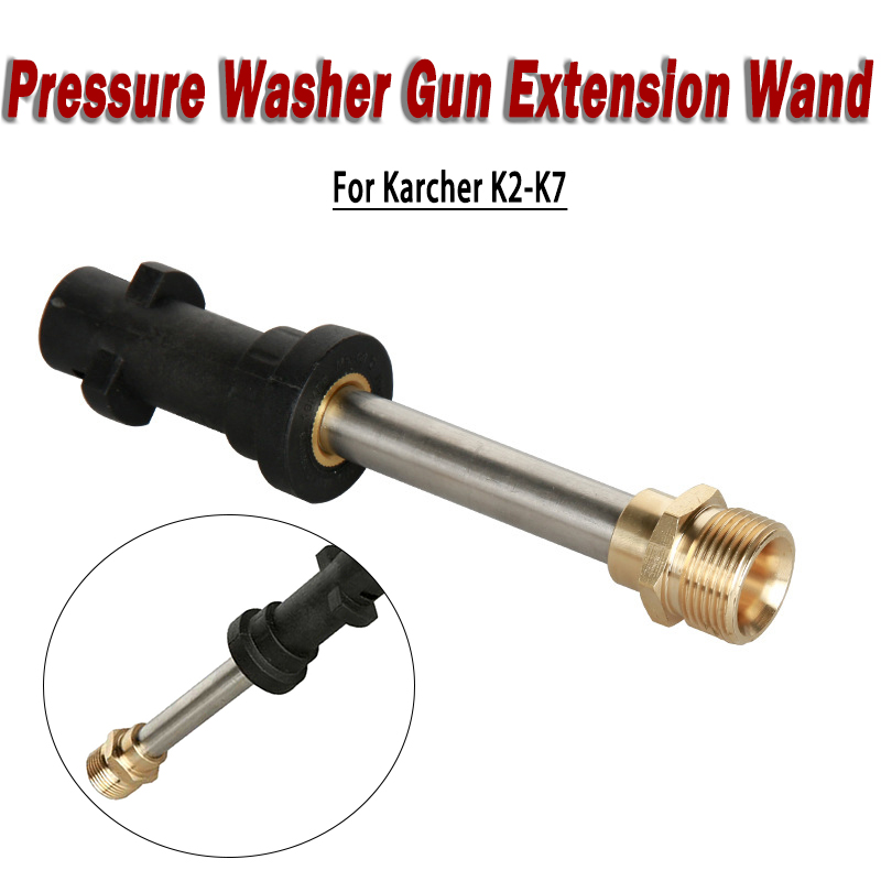 Pressure Washer Gun Extension Wand//Lance with Adapter for Karcher K2-K7