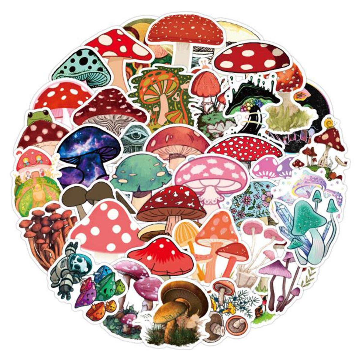 Nipple Covers Mushroom Shrooms Pasties Boobie Stickers