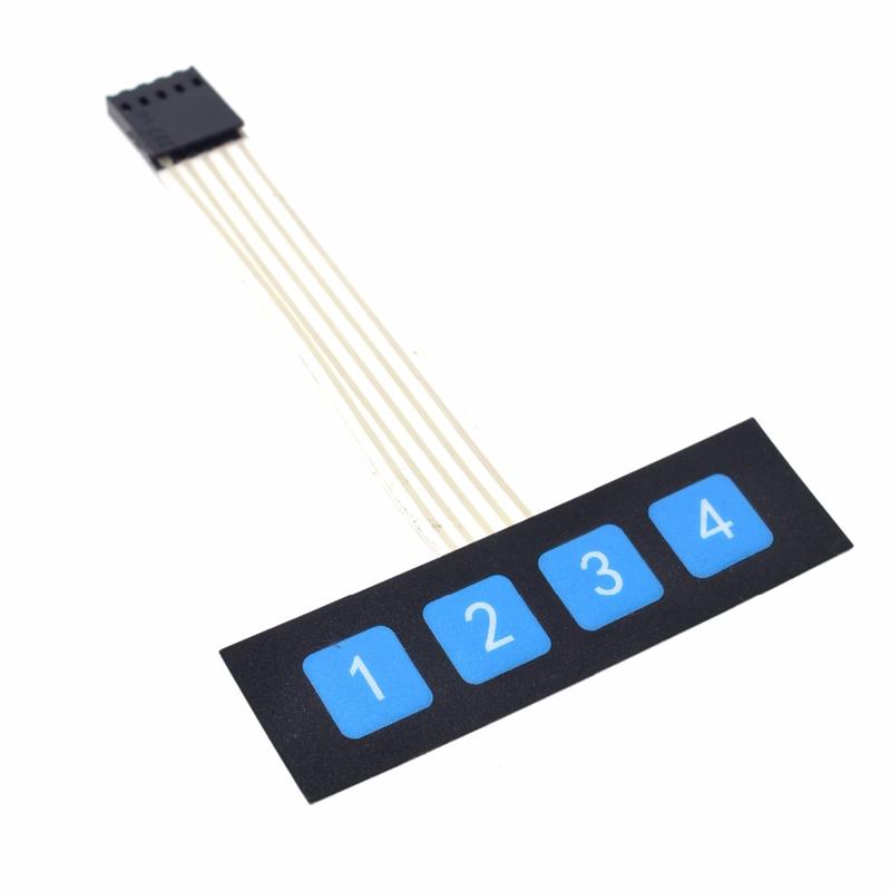1//3//5PCS 3x4 Interrupteur à clé membrane matrice clavier Arduino PIC Pi ARM