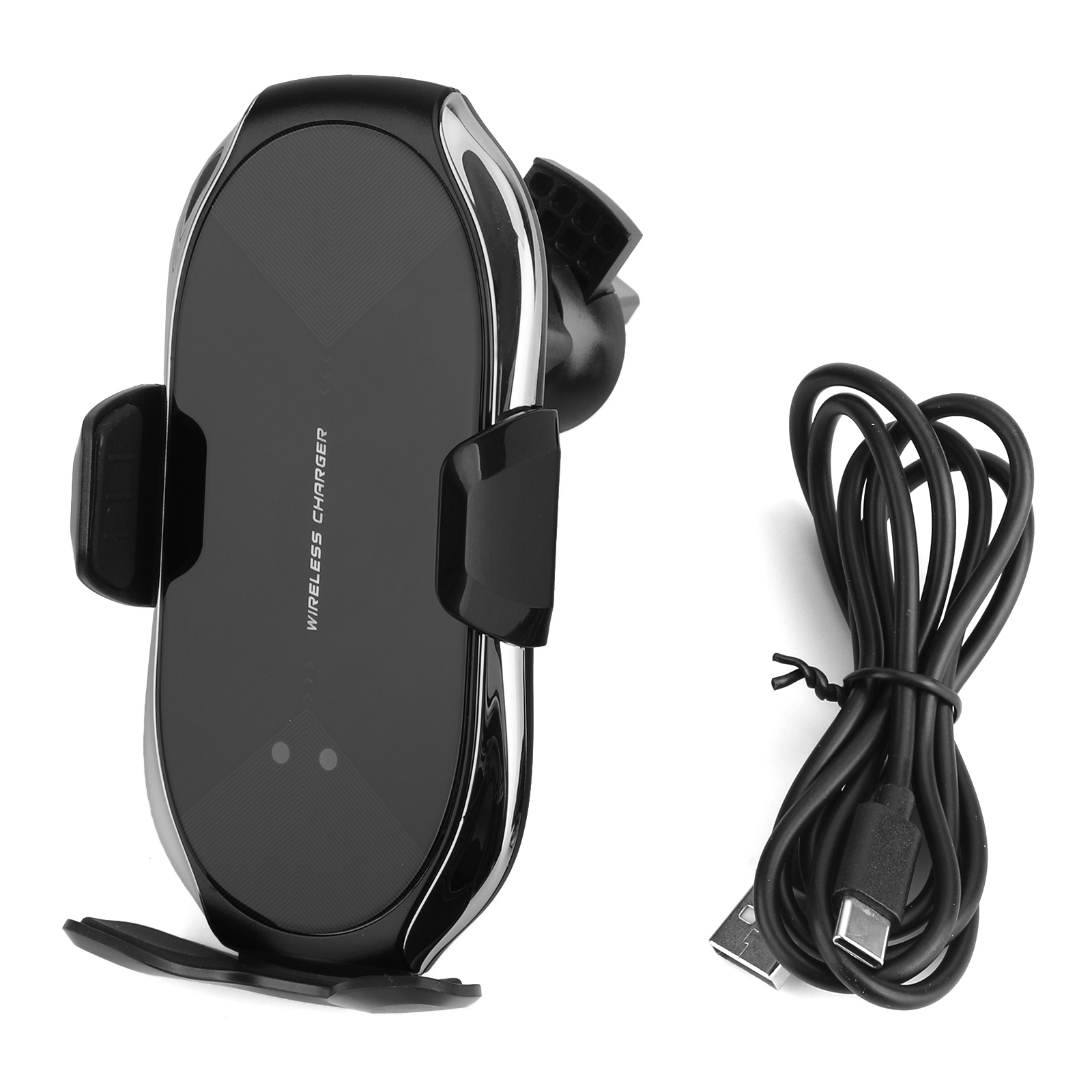China Customized 10W QI Wireless Fast Charger Car Holder