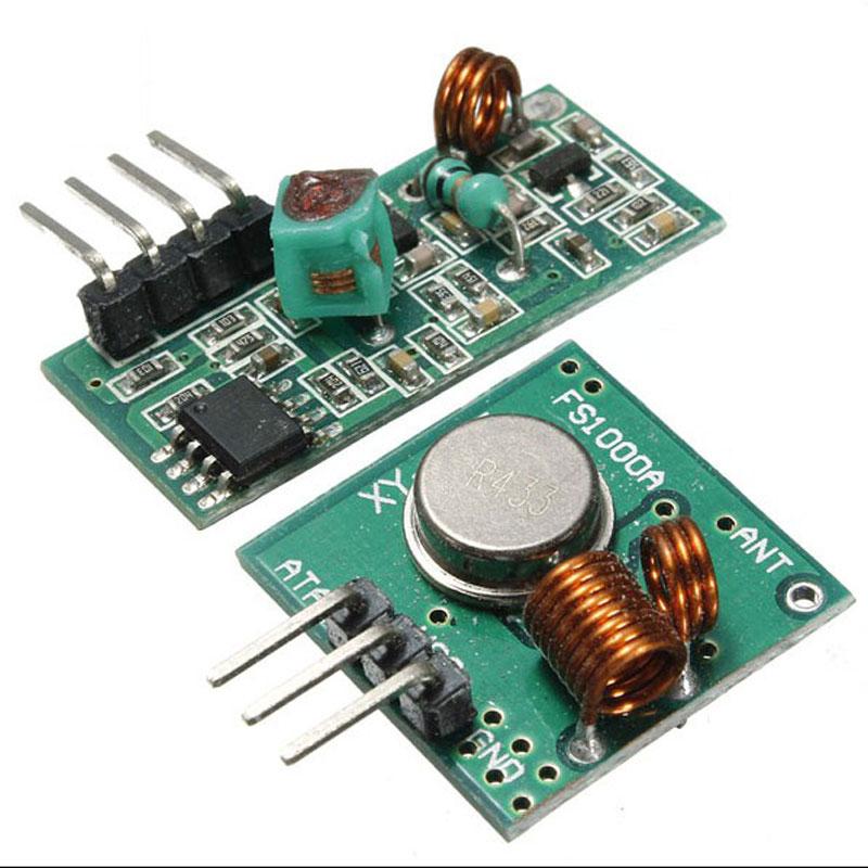 433Mhz RF  Transmitter Receiver Module Kit NEU^