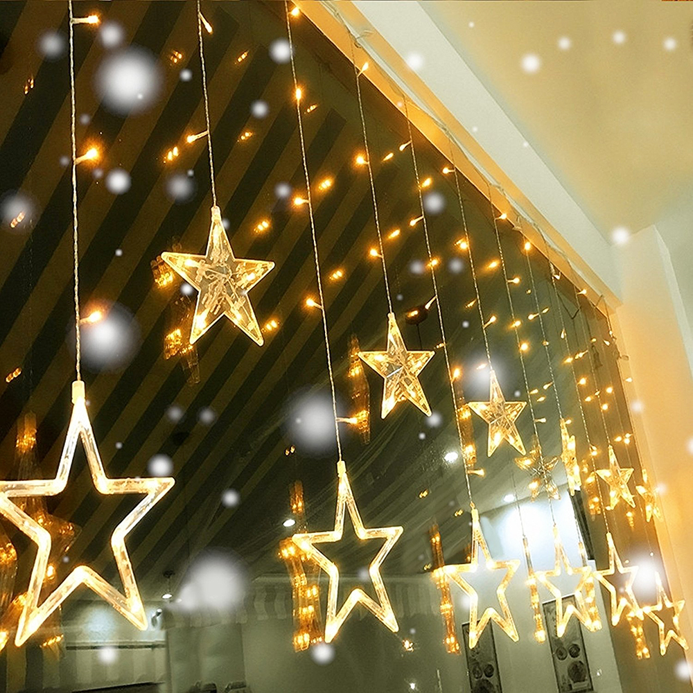 Star Style 138 LED Twinkle Fairy String Light Copper Wire Party Wedding Decor MA