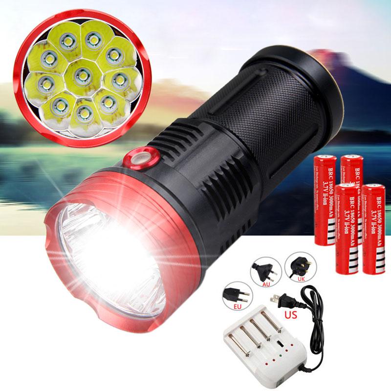 4X LOT Mini Portable Bright LED Flashlight Torch Lamp Light Keychain Camping