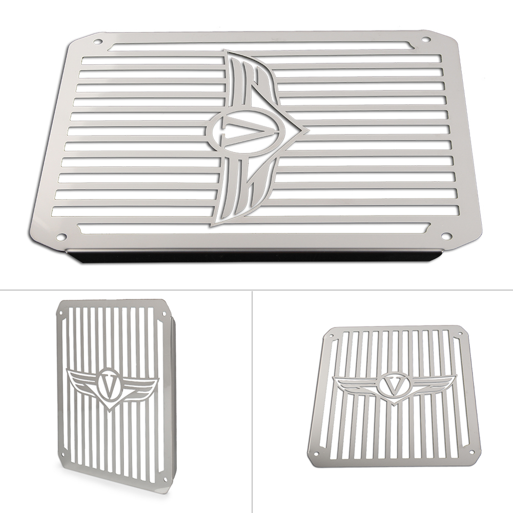Three T Motorcycle Radiator Grille Guard Protective Grill Compatible With VN800 Vulcan e Classic 1995-2003