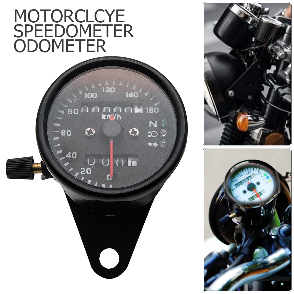 Details about Universal Motorcycle Motorbike Digital LCD Tachometer on