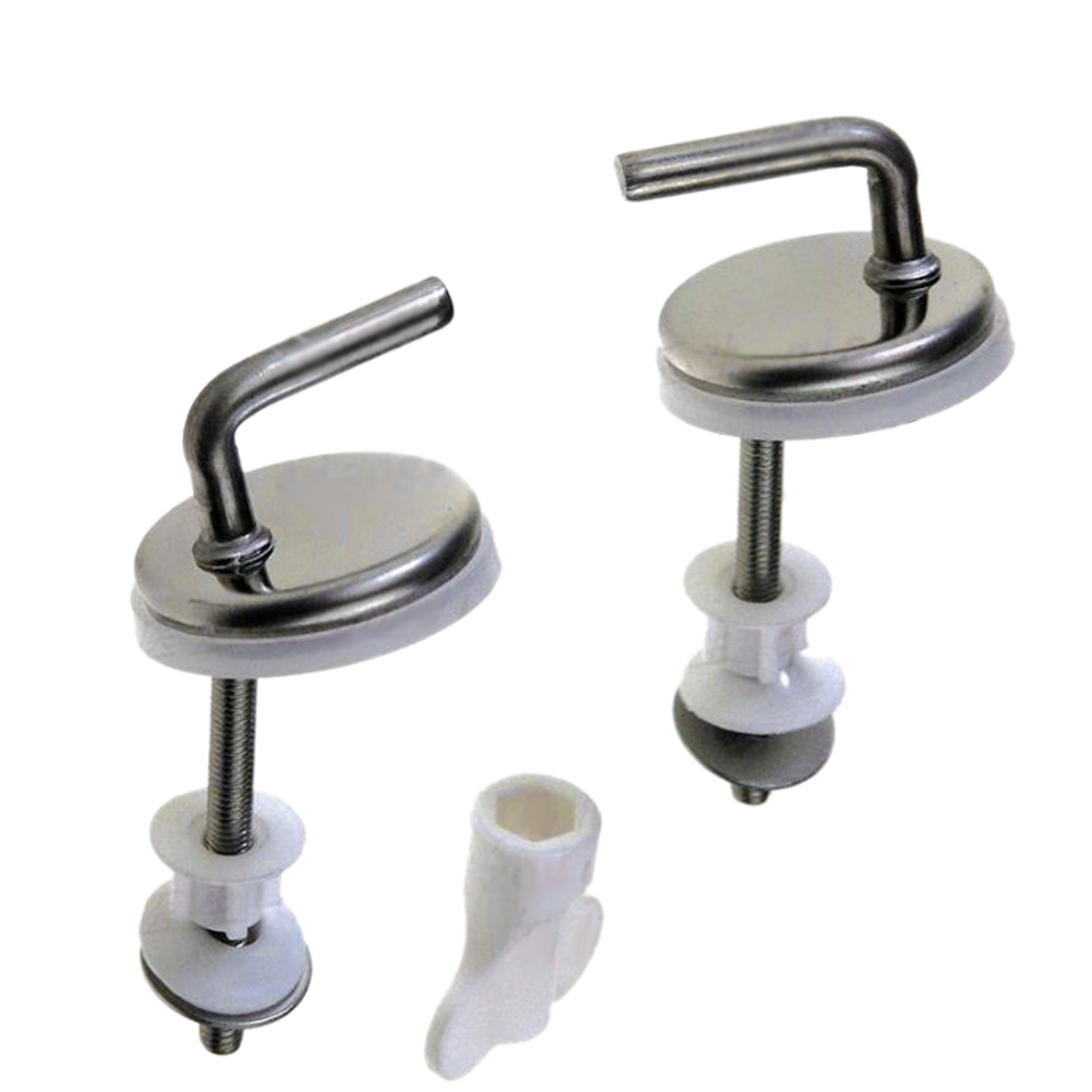 Sensational Details About 2X Toilet Seat Fix Fitting Stainless Steel Back To Wall Replacement Hinges Hinge Unemploymentrelief Wooden Chair Designs For Living Room Unemploymentrelieforg