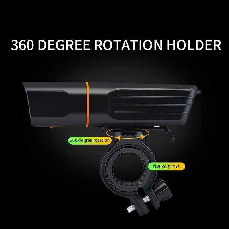 USB Rechargeable Bike Headlight Headlamp Bicycle TK3 LED Front Light Waterproof