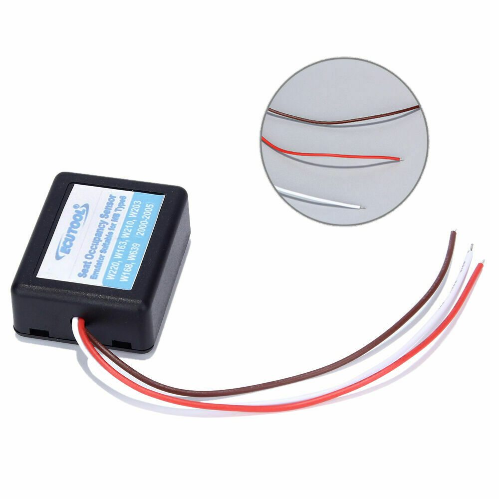 Seat Occupation Sensor Emulator for Mercedes-Benz W220 W163 W210 W203 W168 Type6