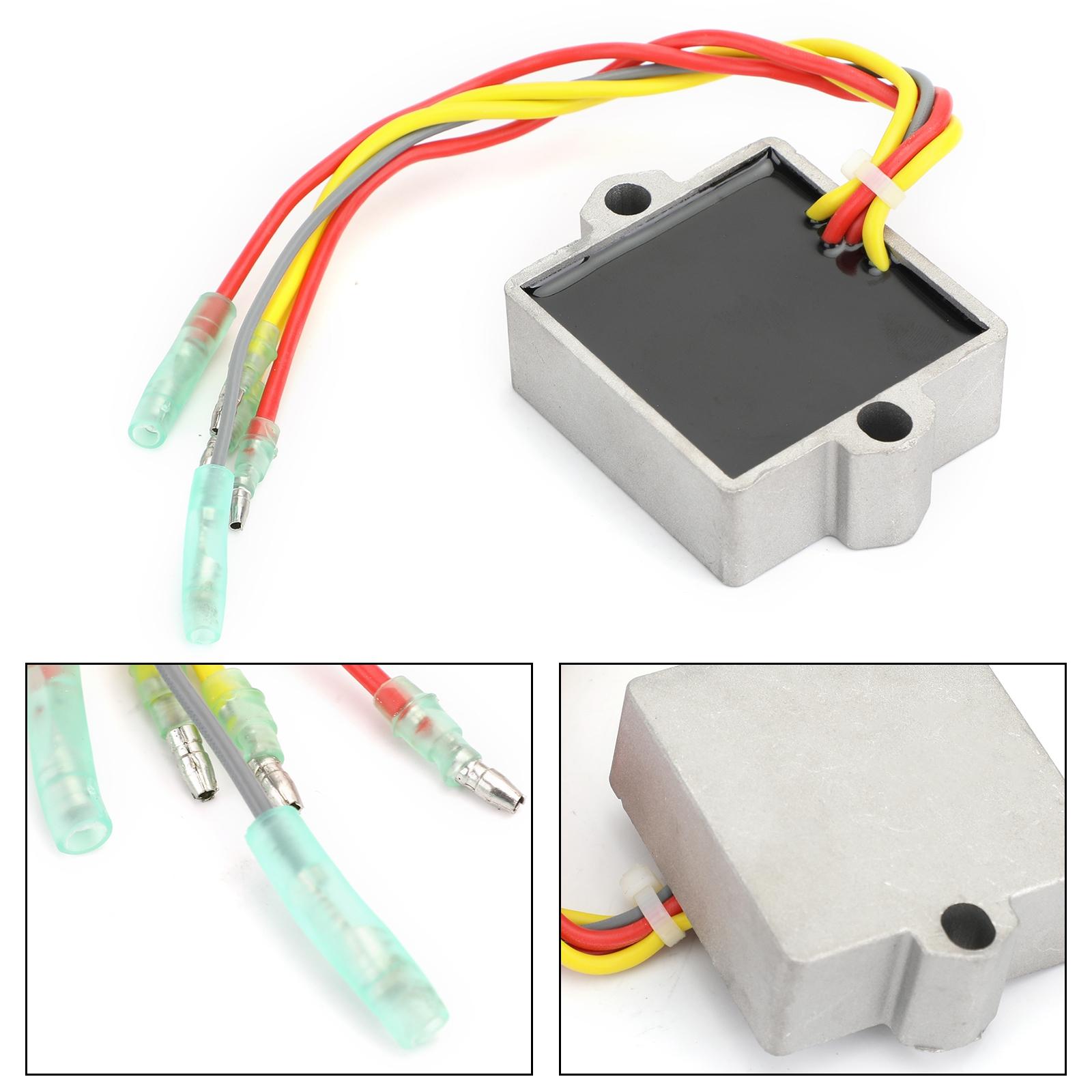 Rectificador regulador de voltaje 815279-3 883072T Regulador rectificador de voltaje para Mercury Mariner Outboard 6 Wire