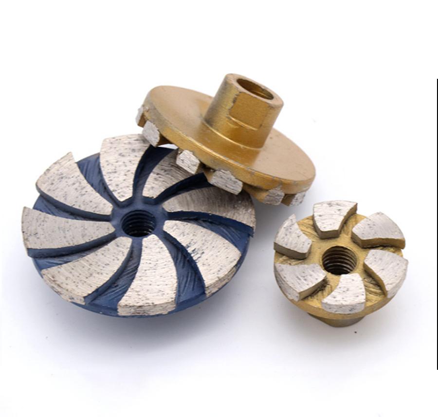 Diamond Segment Grinding Wheel Cup Disc Grinder Concrete Granite Stone Cut UK