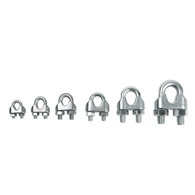 26 mm cable de acero de Agarre Alambre de metal u pernos de fijación Heavy Duty Abrazadera de Cable de Alambre 3 Mm