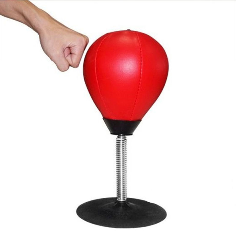 Boxing Punching Bag Speed Ball Inflation PU Punch Training Fitness Sports