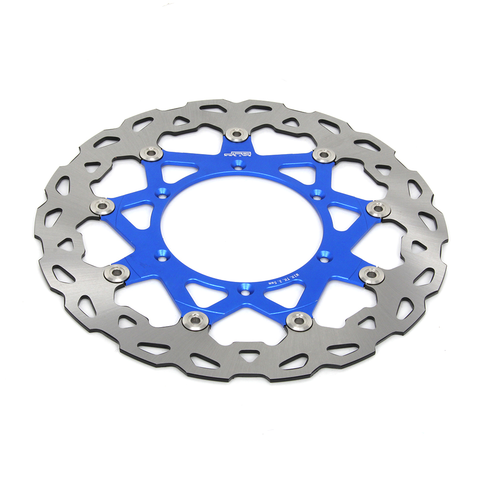 Details About 320mm Motorcycle Front Floating Brake Disc Rotor For Yamaha Yz250 Wr250f Yz250f