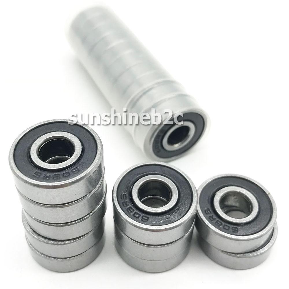 20x Rillenkugellager 8x22x7mm 608 2RS Miniaturkugellager Innendurchmesser 8mm