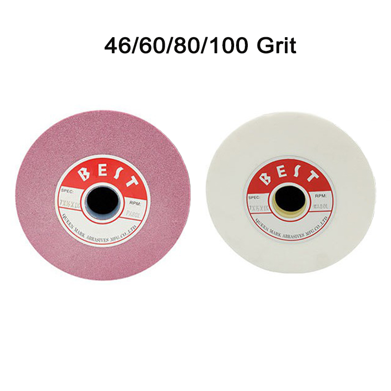 Fantastic Details About Bench Grinding Wheels Pink White Aluminum Oxide 48 120 Grit For Surface Grinding Lamtechconsult Wood Chair Design Ideas Lamtechconsultcom