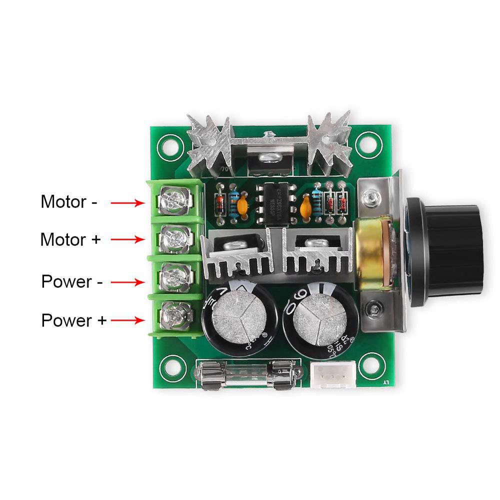 Speed Controller Drehzahlregler Regler 10A PWM Motor 12V 40V DC Deutsche Post