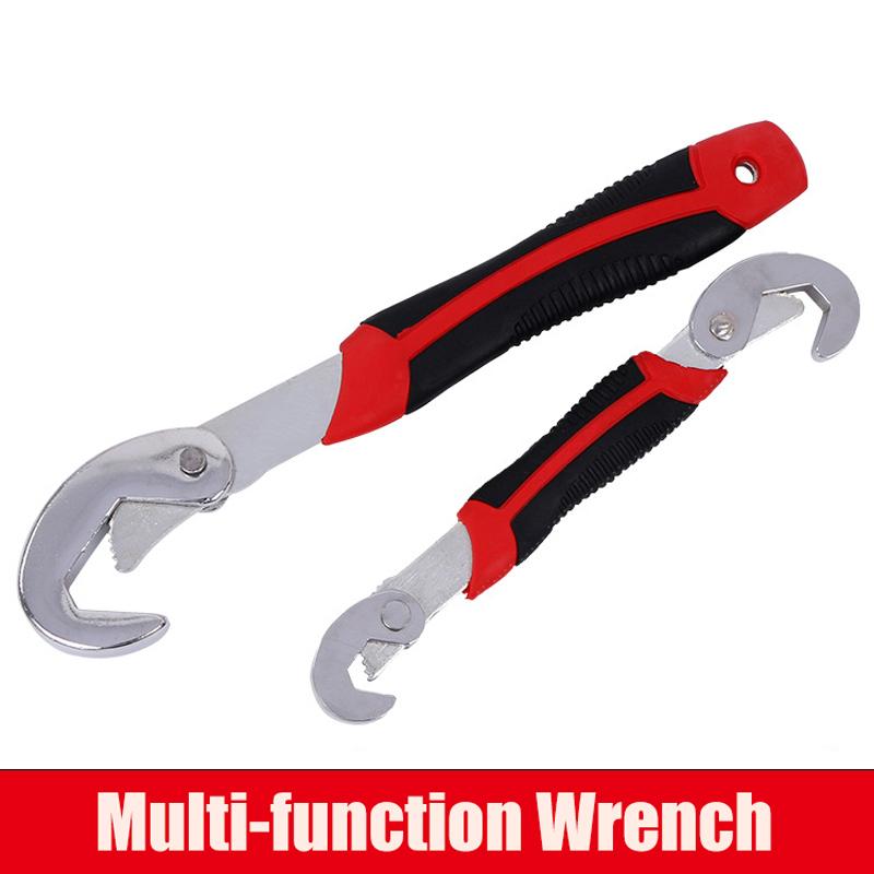 2 Universal Schl/üssel 9 bis 32 mm Ringschl/üssel Multischl/üssel Rohrzange
