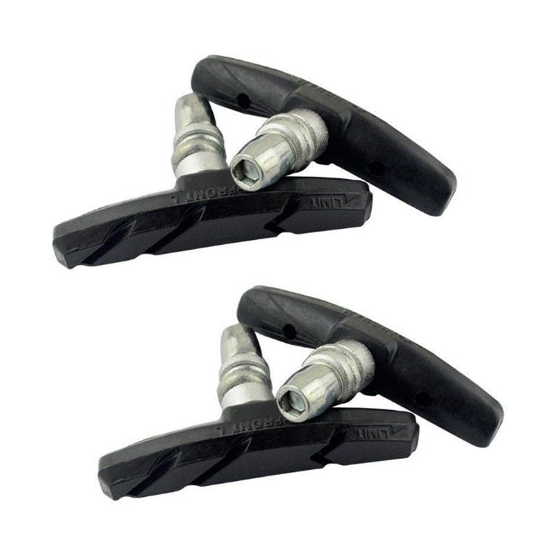 Pair of V Brake Type Pads Mountain Bicycle V Braking Pads Blocks Shoes for Bike