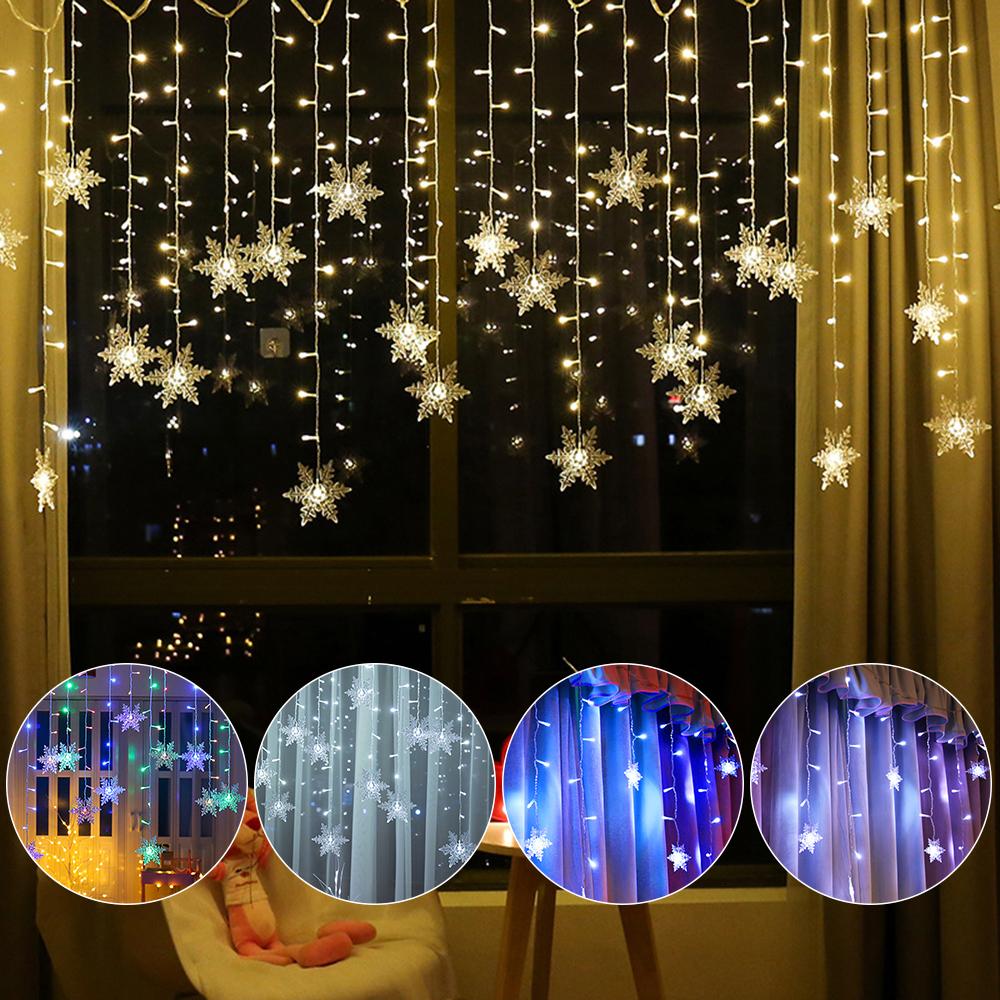 Party Warmweiß 20 LED-Schnur Sterne Fairy Light Weihnachtslampe Mehrfarbig