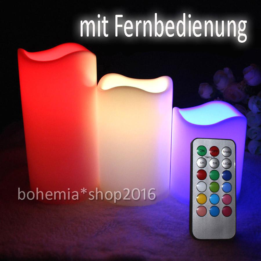 3x led teelicht mit fernbedienung farbwechsel timer. Black Bedroom Furniture Sets. Home Design Ideas