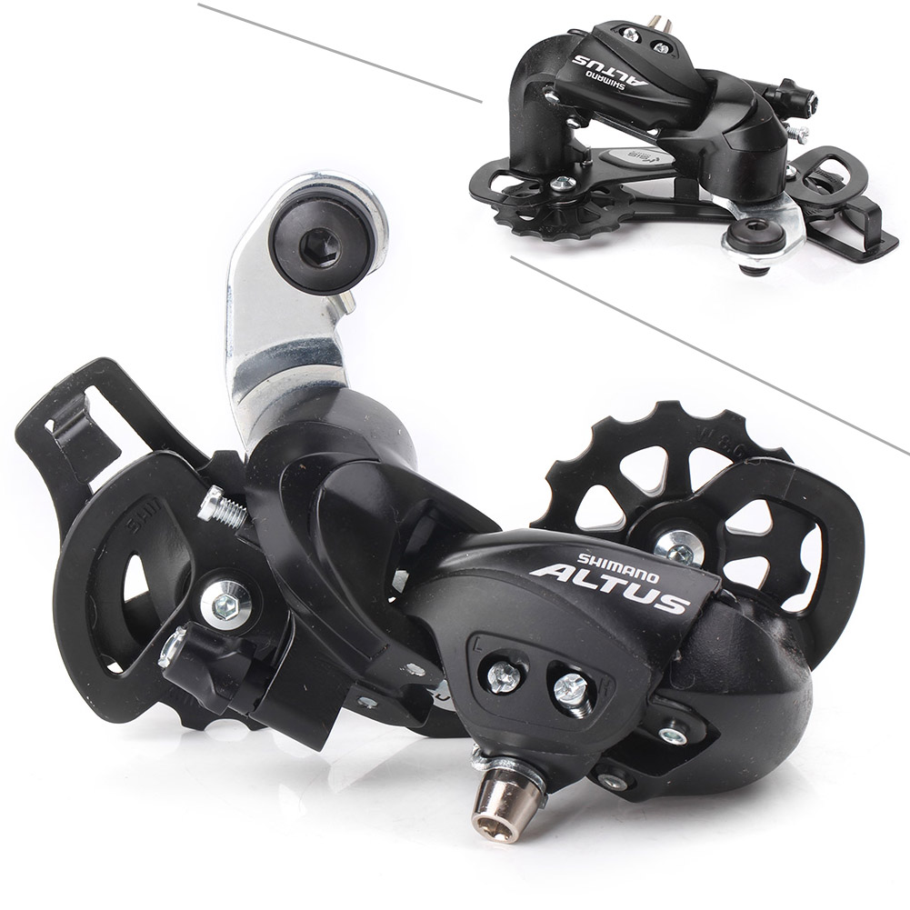 8 Speed MTB Bike Bicycle M280 Shimano Altus RD-M280 Rear Derailleur 7