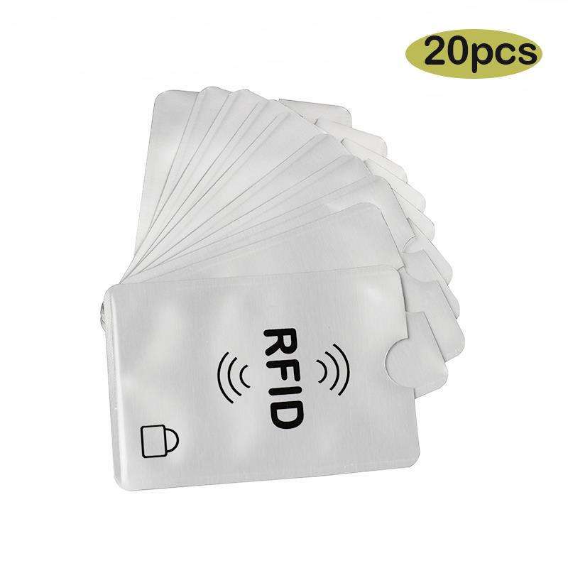 20x RFI Schutzhülle Schutz RFID für Kreditkarten EC Karten RFID Card blocker