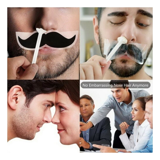 Nose Ear Hair Removal Wax Kit Sticks Easy Mens Nasal Waxing Strip Remover Strips Ebay
