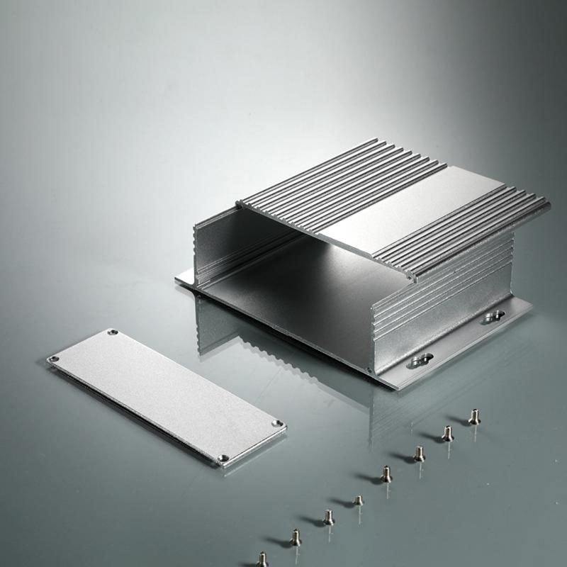 4 Arten Alu Elektronisches Projekt pcb instrument Kleingehäuse Gehäuse Box