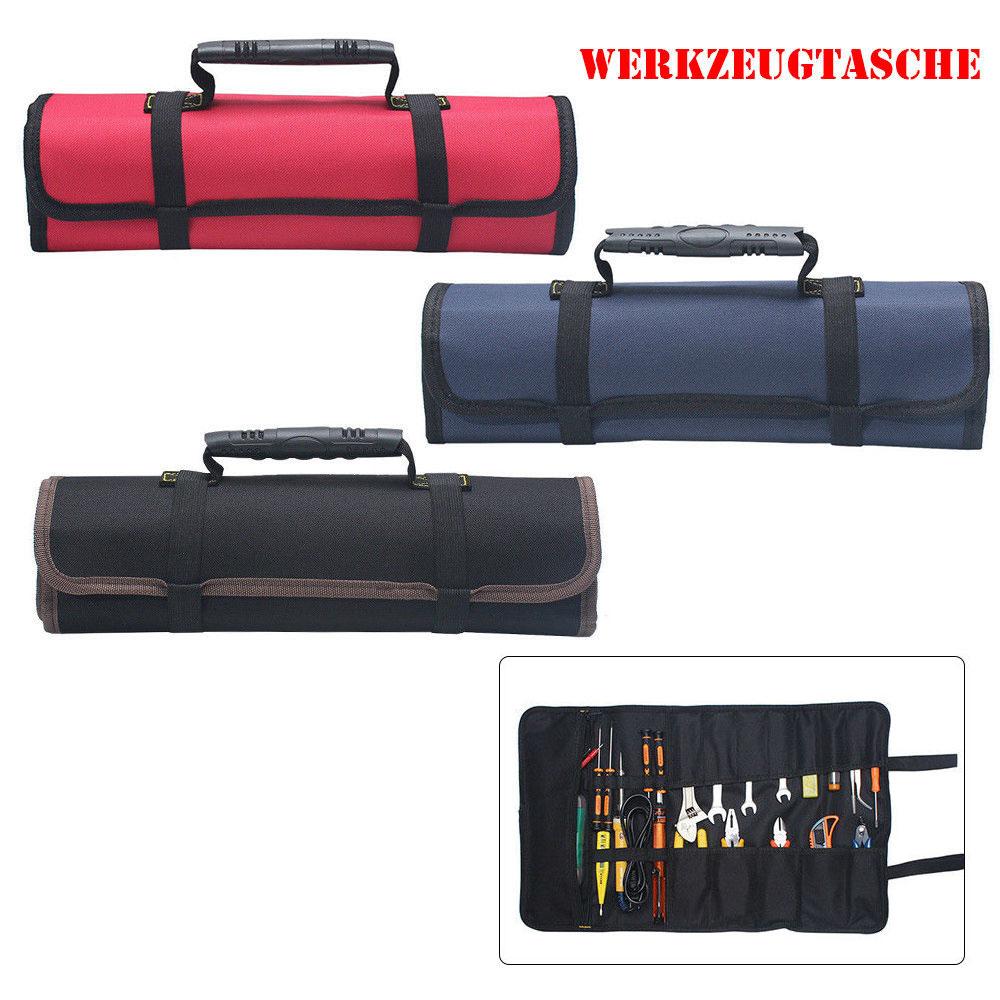 Werkzeugrolltasche Toolpack Rolltasche Werkzeugtasche Tasche Mehrere Fächer
