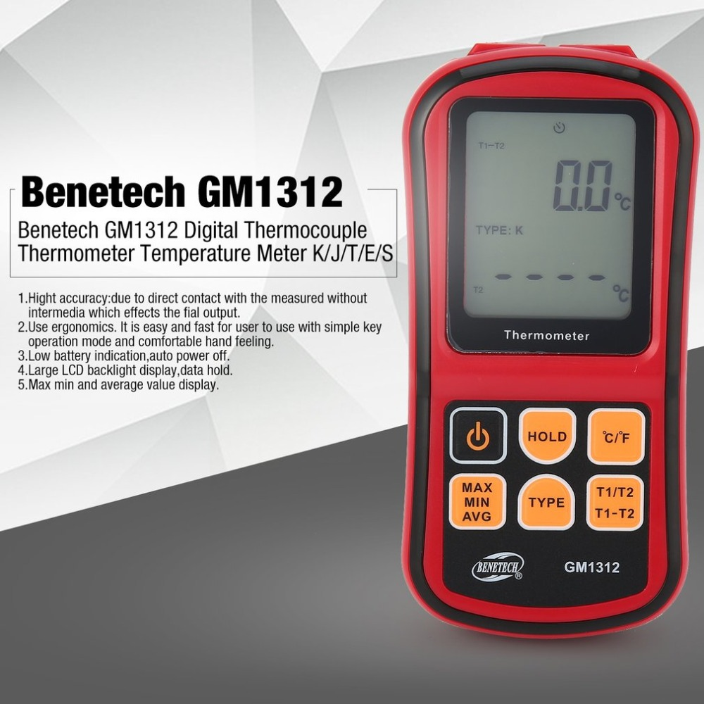 GM1312 LCD Digital Thermometer
