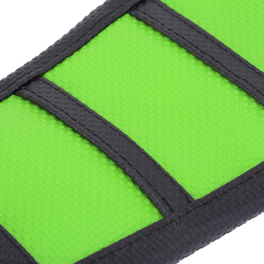 pro rib ribbed green gripper soft seat cover  kawasaki kx klx   ebay