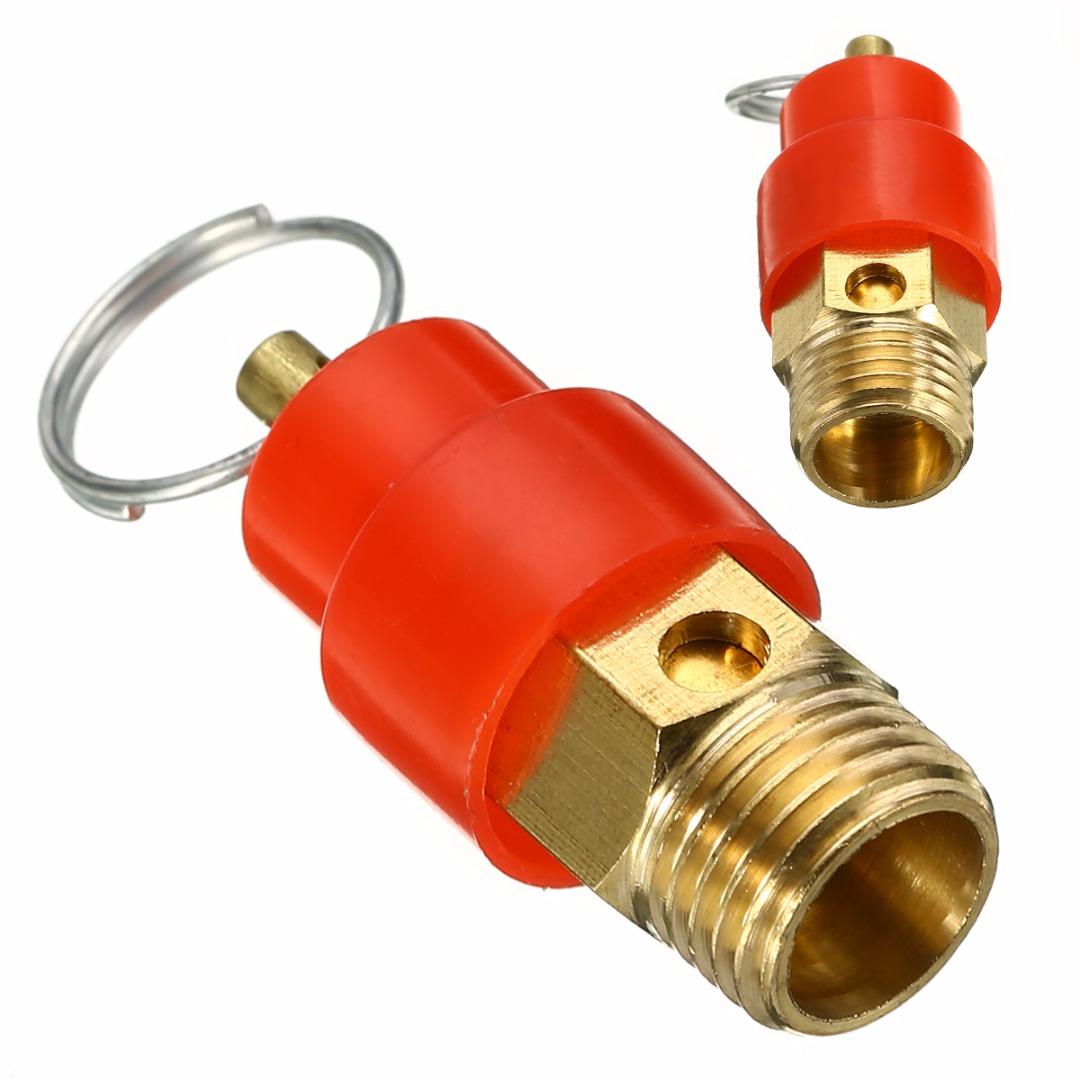 "1//8/"" 1//4/"" 3//8/"" 1//2/"" BSPT Air Compressor Pressure Relief Safety Release Valves"