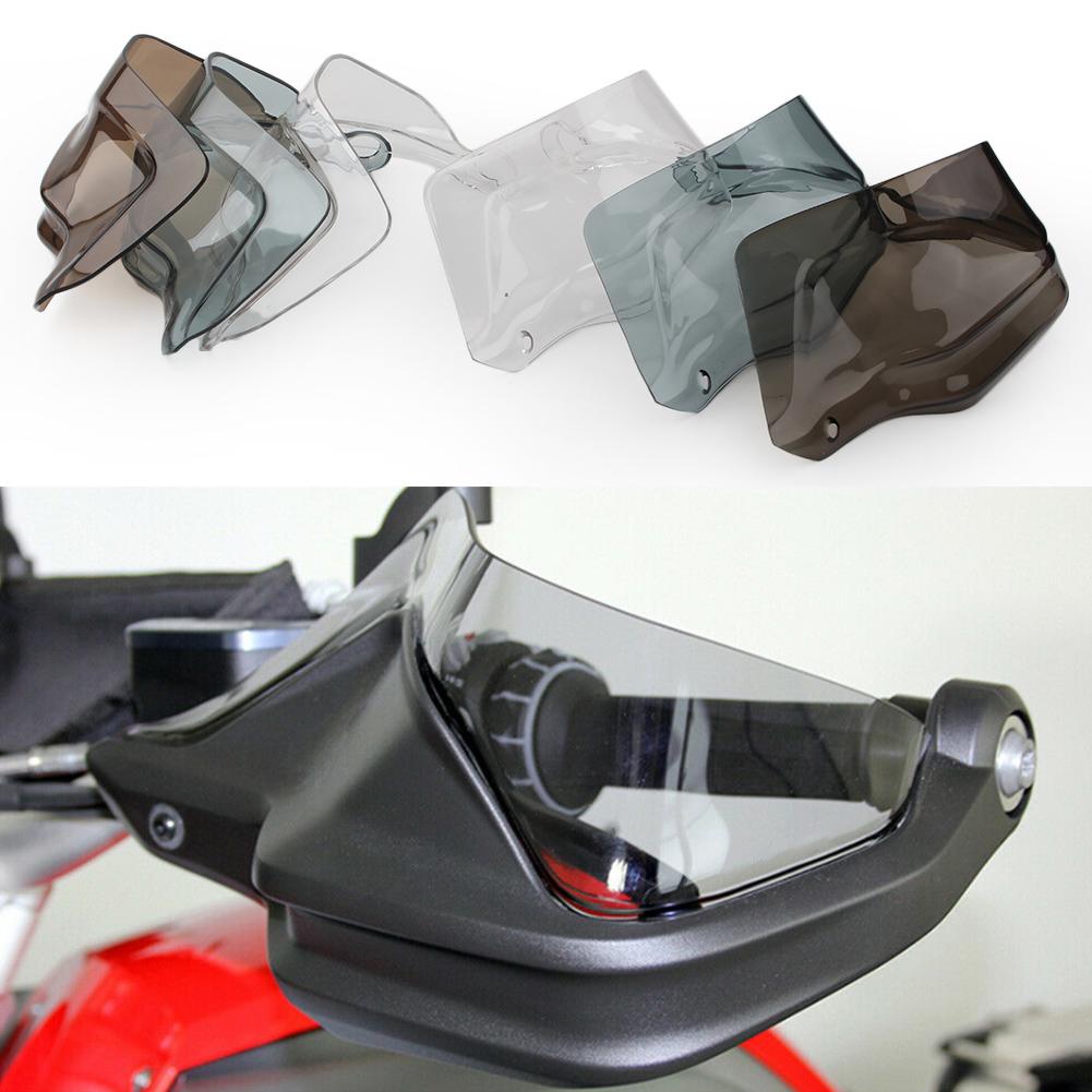 Motorcycle Handlebar Handguard Handle Protector Motorcycle Handbar Hand Guard Wind Protector Air Deflector Shield 2Pcs Large