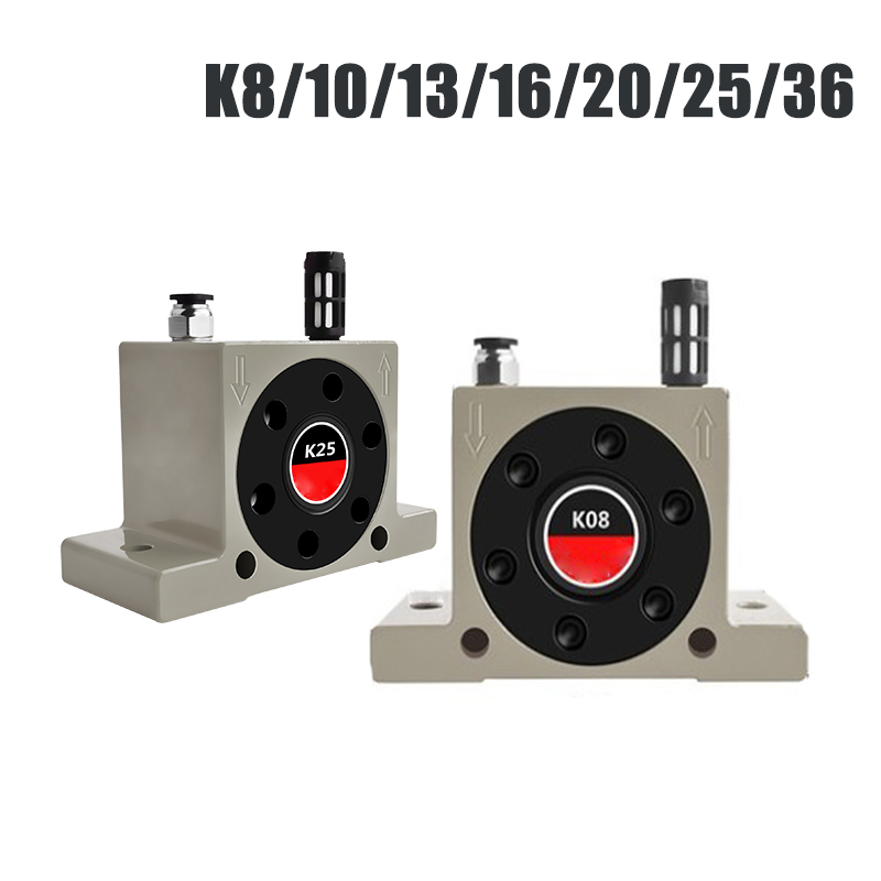 USA K10 Industrial Ball Type Pneumatic Turbine Vibrator K-Series